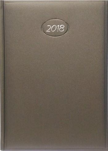 AGENDA SEMANAL POMBO LEDIBERG 2018 MODELO B82-05, LINHA ASTA  - Empório das Variedades
