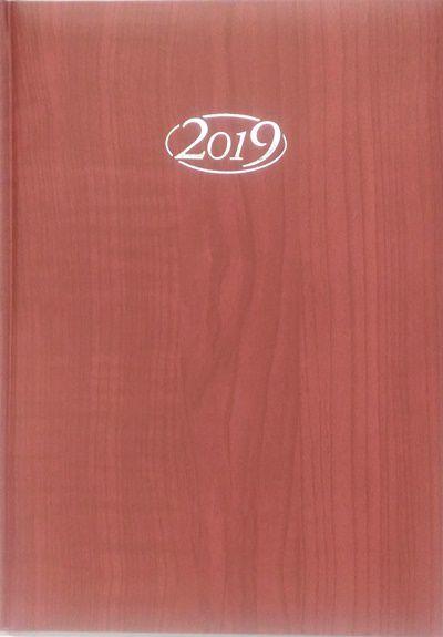 AGENDA SEMANAL POMBO LEDIBERG 2019 MODELO B82-GIAVA VINHO , LINHA ASTA