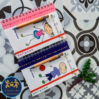 Caderno Escolar EV621  - Empório das Variedades