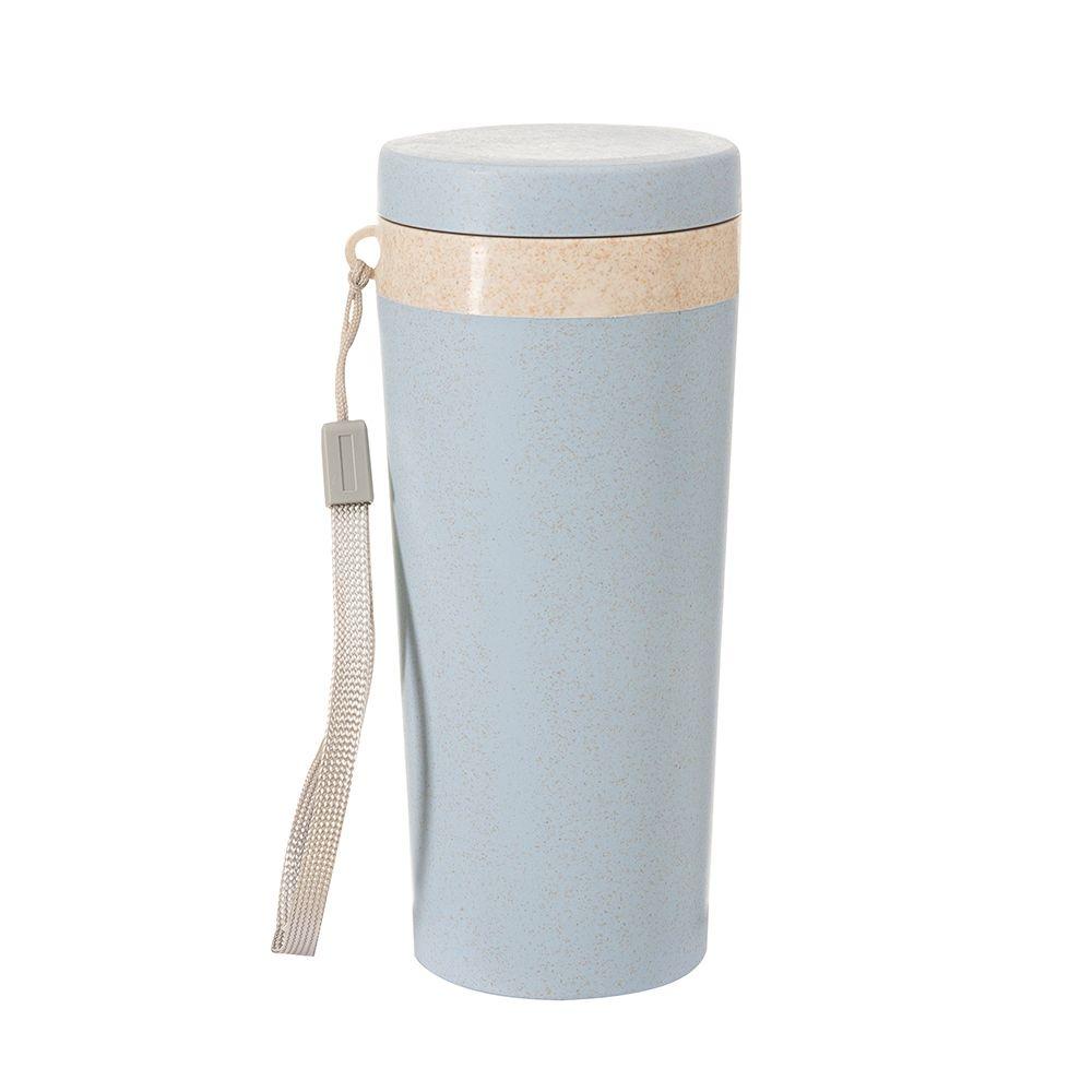 Copo Térmico Fibra de Bambu de 350ml, Modelo SB03006  - Empório das Variedades