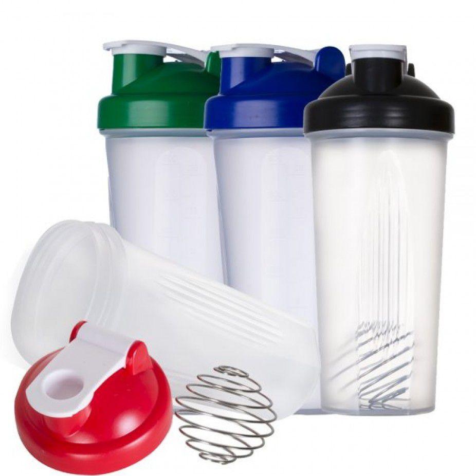 Coqueteleira 600ml plástica para Shake Personalizada  - Empório das Variedades