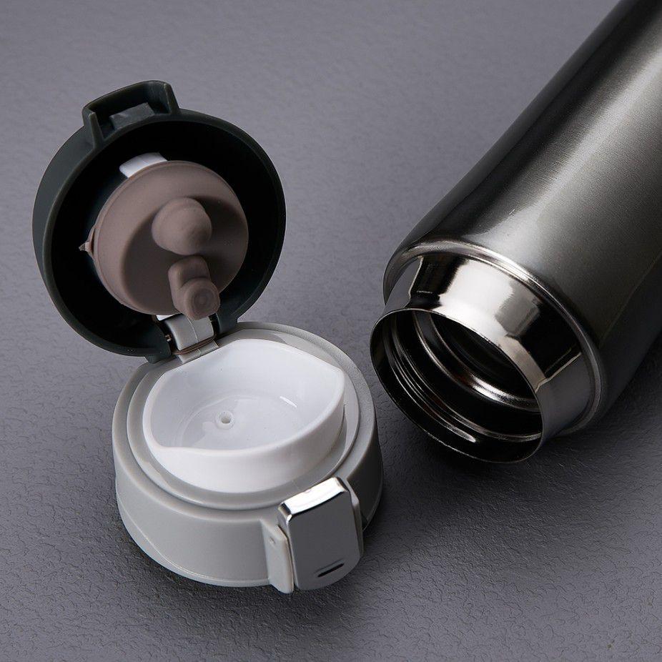 Garrafa Térmica Personalizada 350 ML Inox  - Empório das Variedades