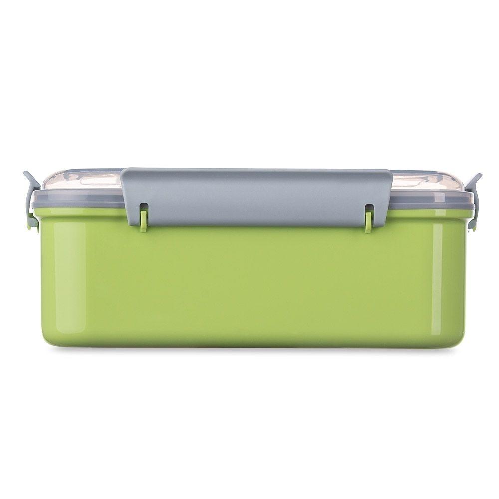 Marmita Plástica Personalizada com divisão de compartimentos.  - Empório das Variedades