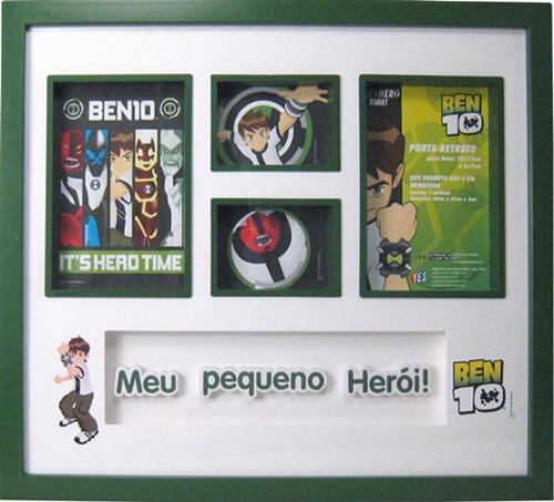 PORTA-RETRATO DE PAREDE BEN 10 MODELO B10PR103  - Empório das Variedades