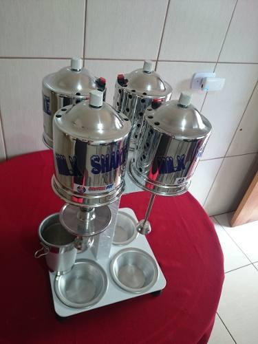 Maquina Batedor De Milk Shake Sd2015 4x1balcão 750 W 220volt  - controlpot Maquinas e Batedores Milk Shake