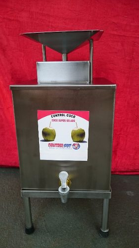 Gela Coco Inox Controlpot 2000 Ml  - controlpot Maquinas e Batedores Milk Shake