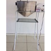 Ralador Industrial D Milho&alimentos Geral Com Pé E Peneira