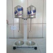 Maquina Milk Shake Profissional Sd 2014 Dupla Balcão 750watt sem copo