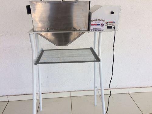 Ralador Industrial D Milho&alimentos Geral Com Pé E Peneira  - controlpot Maquinas e Batedores Milk Shake