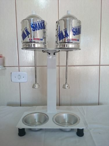 Maquina Milk Shake Profissional Sd 2014 Dupla Balcão 750watt sem copo  - controlpot Maquinas e Batedores Milk Shake