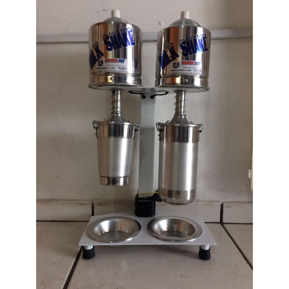 Maquina Milk Shake Profissional Sd 2014 Dupla Balcão 750watt  - controlpot Maquinas e Batedores Milk Shake