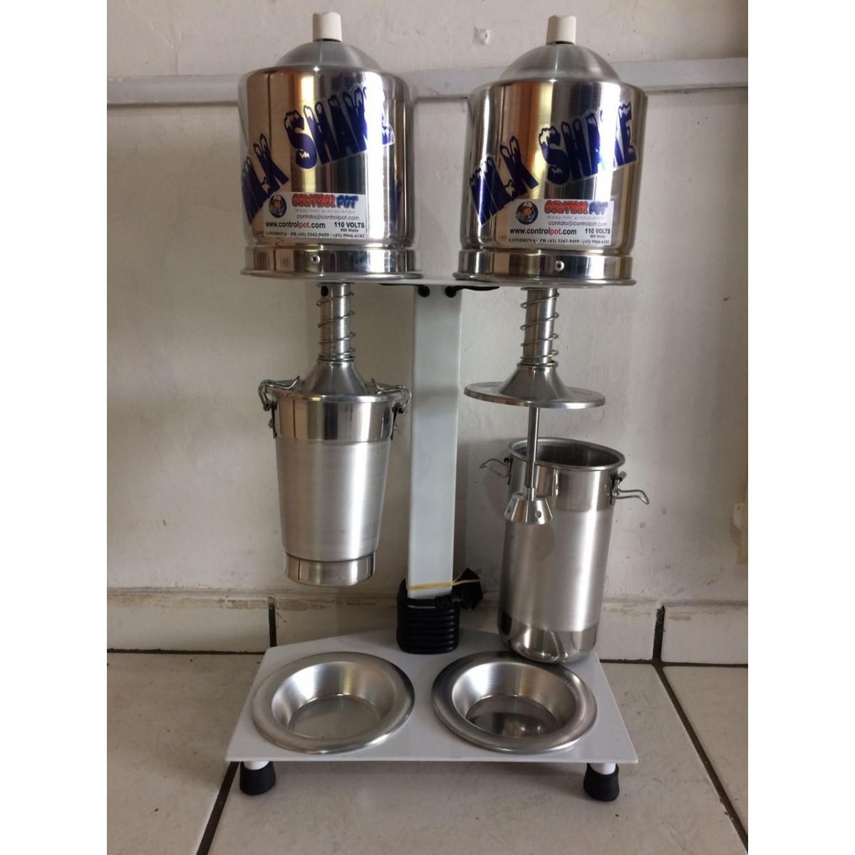 Maquina Milk Shake Profissional Sd 2014 Dupla Balcão 900watt  - controlpot Maquinas e Batedores Milk Shake