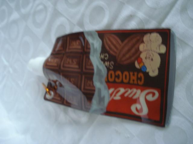 Garrafa De Água Dobrável Chocolate Flexível Reutilizável  - Presente Presente