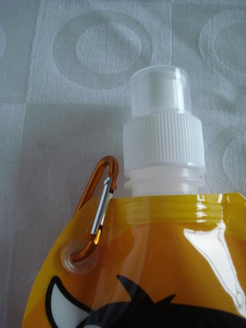 Garrafa De Água Dobrável Leão Flexível Reutilizável  - Presente Presente