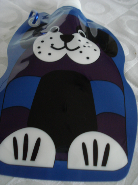 Garrafa De Água Dobrável  cachorro cãozinho Flexível Reutilizável  - José Geraldo Almeida Marques