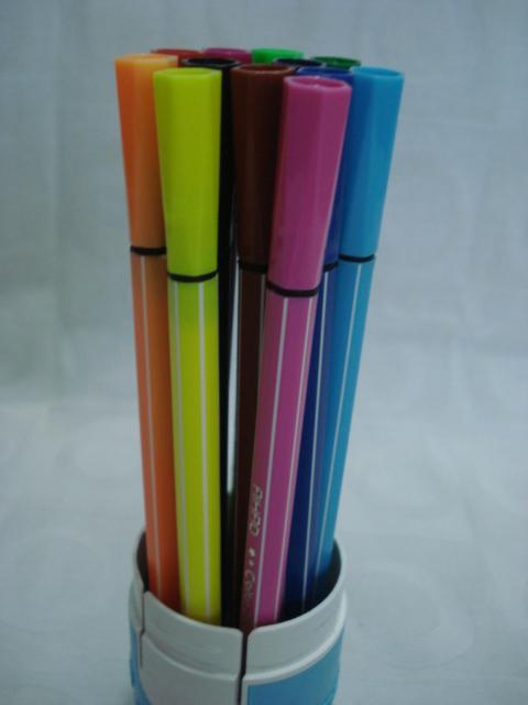 Conjunto 12 Canetas Color Pen Aihao Canetinhas  - José Geraldo Almeida Marques