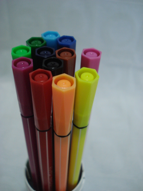 Conjunto 12 Canetas Color Pen Aihao Canetinhas  - PRESENTEPRESENTE
