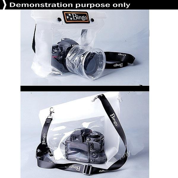 Bolsa A Prova De Agua 20 M Câmera Digital Profissional  - PRESENTEPRESENTE