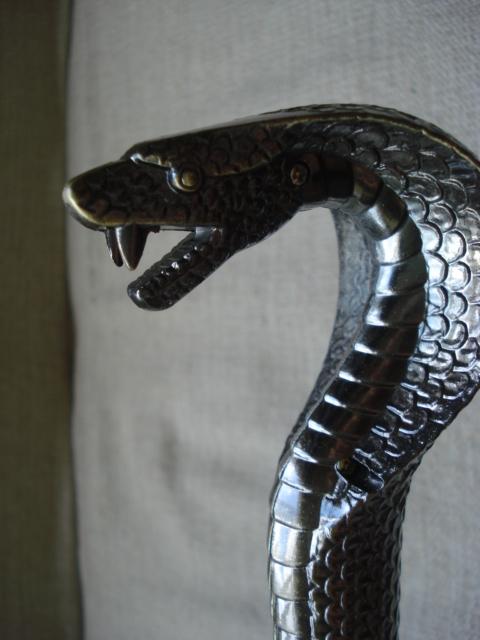 Bengala Espada Punhal Faca Camuflada 90x5 Serpente Naja  - Presente Presente