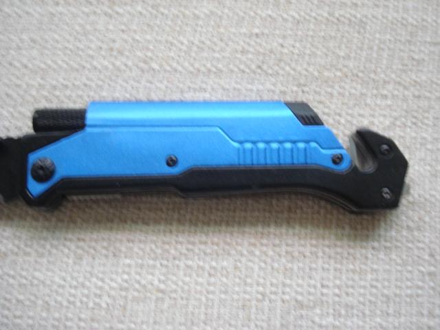 Canivete Transformer Com Led Pederneira Faca Dobrável Trava   - Presente Presente