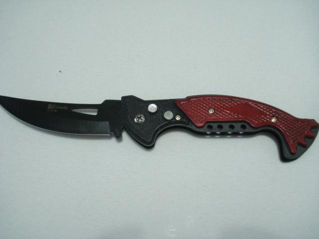 Canivete Pesca Fish Tail Caça Automatico Aço Trava   - Presente Presente