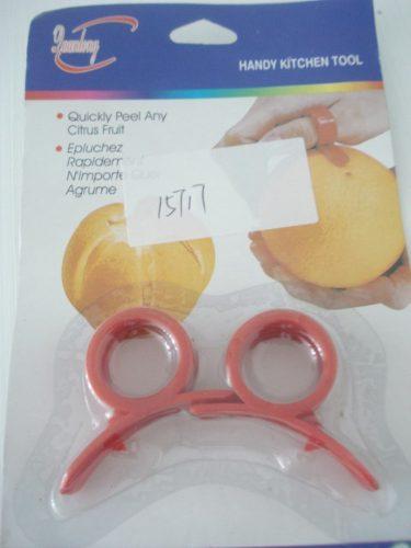 Descascador De Frutas Laranja E Limão 2 Peças  - PRESENTEPRESENTE