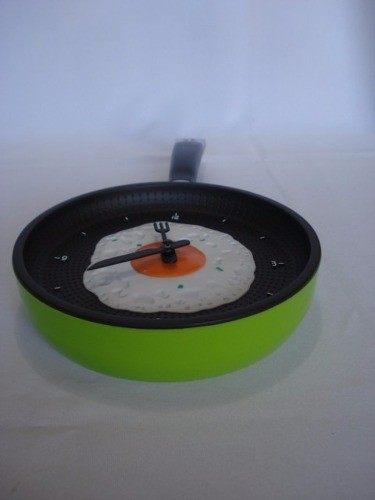 Relógio De Parede - Frigideira Ovo Frito  - PRESENTEPRESENTE