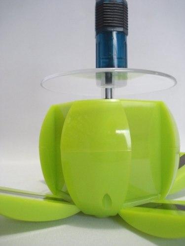 Expositor Display Maça Verde Solar Giratório Produtos Joia  - PRESENTEPRESENTE