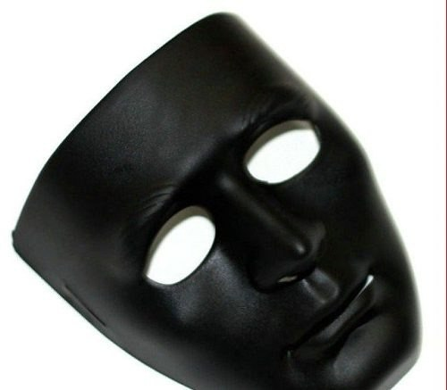 Mascara Sem Face Cs Paintball Preta Carnaval Haloween Festa  - José Geraldo Almeida Marques