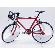 Miniatura Bicicleta Vermelha Corrida Mini Bike Aero
