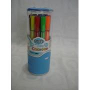 Conjunto 12 Canetas Color Pen Aihao Canetinhas
