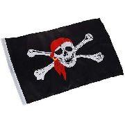 Bandeira Pirata Jolly Roger 90x60cm Poliester