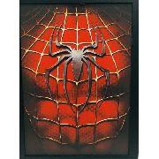 Placa Quadro Mdf 36cm Homem Aranha Spider Man Anúncio com variaçã
