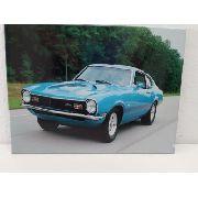 Placa Metal Carro Vintage 27x20cm Coleção Anúncio com variação