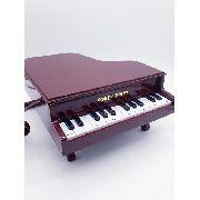 Telefone Piano Classico Retro Vintage Marrom Anúncio com variação