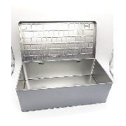 Caixa Organizadora 2 Peças Porta Treco Decorativo Metal