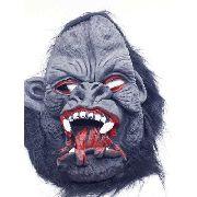 Mascara Gorila Macaco Sangrento Presas Festa Haloween
