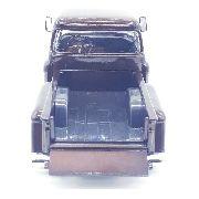Carrinho Metal Caminhonete Chevy 1955 Stepside Marrom 1/24