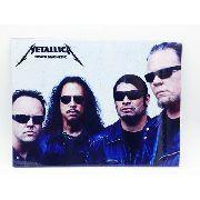 Placa Metal Rock N' Roll Metallica 27x20cm Death Magnetic Anúncio com variação
