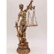Enfeite Estátua Themis Deusa Da Justiça 20cm Anúncio com variação