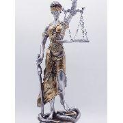 Enfeite Estátua Themis Deusa Da Justiça 28cm Anúncio com variação
