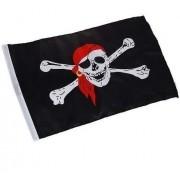 10 Peças Bandeira Pirata Jolly Roger 90x60cm