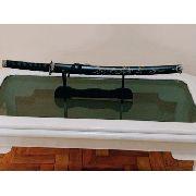 Espada Katana 78cm Preta Ninja Samurai Dragão Black