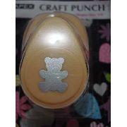 Furador Scrapbook Urso Ursinho Corte 1,5cm Festa Cratf Punch
