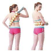 Massageador Corporal 6 Cilindros Roller Rope Massage Anúncio com variação