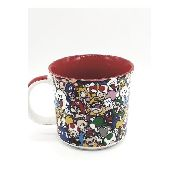 Caneca Porcelana Personagens Super Mario Bros Zona Criativa