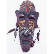Enfeite Máscara Africana Resina Estátua Decoração B Anúncio com variação