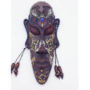 Enfeite Máscara Africana Resina Estátua Decoração C Anúncio com variação