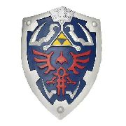 Escudo Lengend Of Zelda Tamanho Real Em Resina Exclusivo