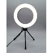 - Iluminador De Led Com Tripe Ring Light Usb 16cm 3500k 5500k